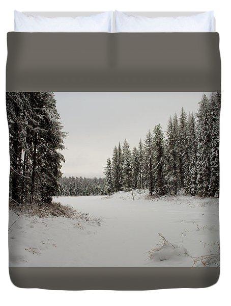 Frater Lake Duvet Cover