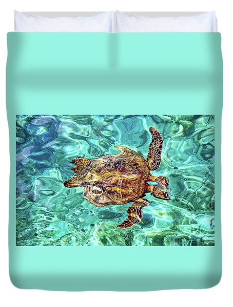 Freaky Duvet Cover by David Lawson