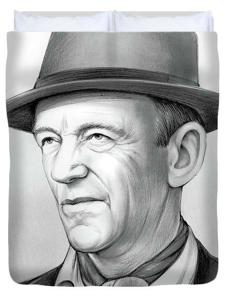 Fred Astaire Duvet Cover