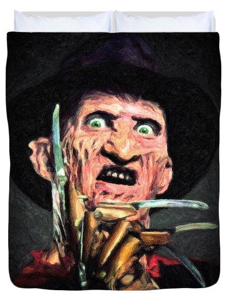 Freddy Krueger Duvet Cover