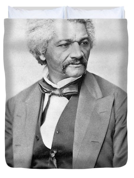 Frederick Douglass Duvet Cover by War Is Hell Store