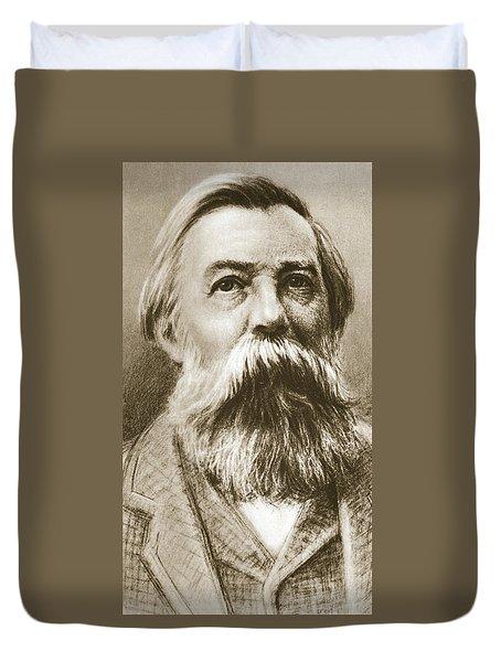 Frederick Engels Duvet Cover