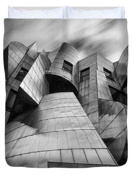 Frederick R Weisman Art Museum Minneapolis Bw Duvet Cover
