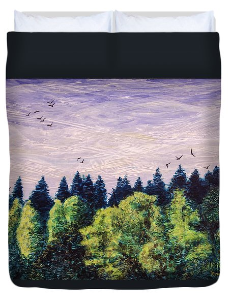 Free As The Wind Duvet Cover