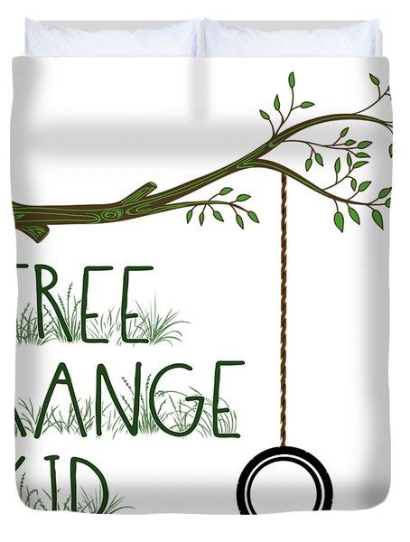 Free Range Kid Duvet Cover