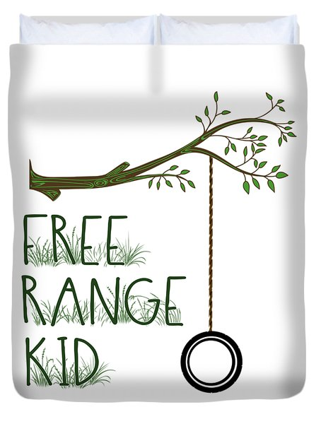 Free Range Kid Duvet Cover