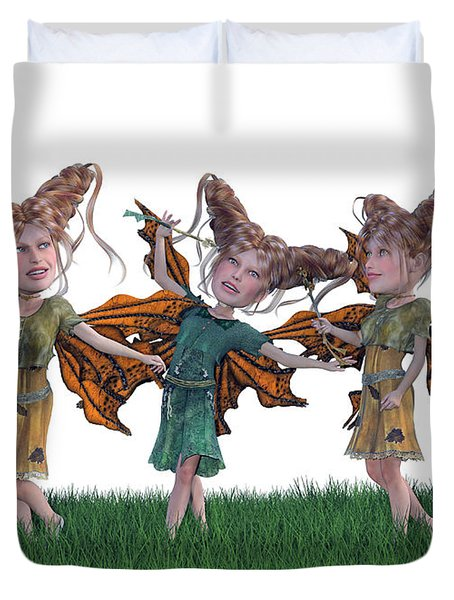 Free Spirit Friends Duvet Cover