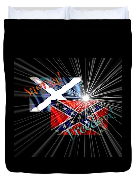 Freedom Fighters Duvet Cover by Ruanna Sion Shadd a'Dann'l Yoder