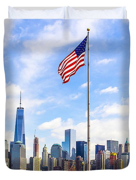 Freedom Flags Duvet Cover