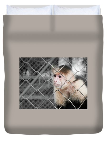 Freedom Not Bigger Cage Duvet Cover