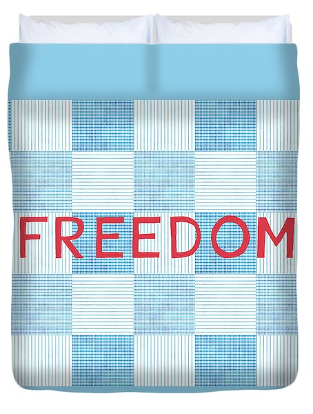 Freedom Patchwork Duvet Cover