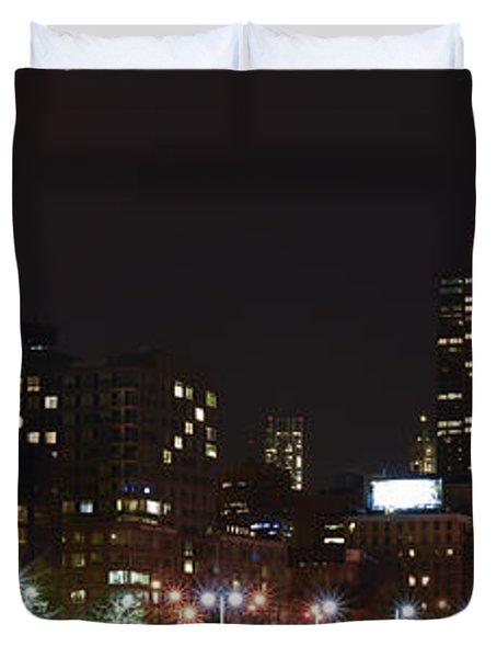 Freedom Skyline Duvet Cover