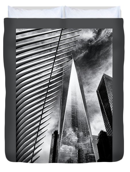 Freedom Tower Duvet Cover