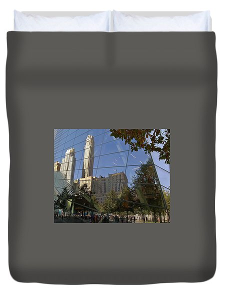 Ground Zero Reflection Duvet Cover