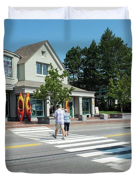 Freeport, Maine #130398 Duvet Cover