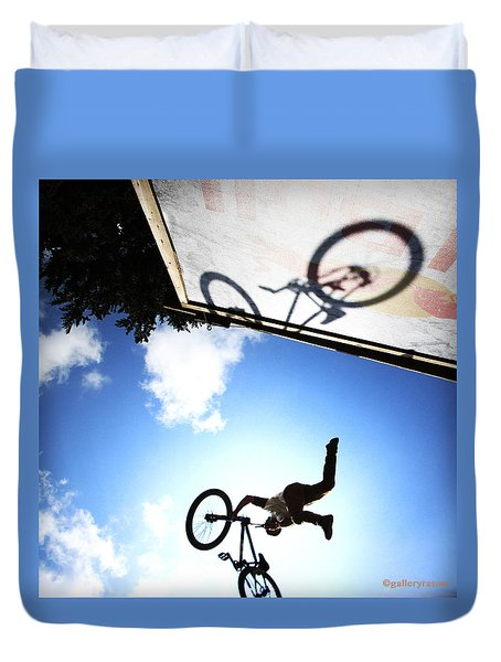 Freestyle Shadows Duvet Cover