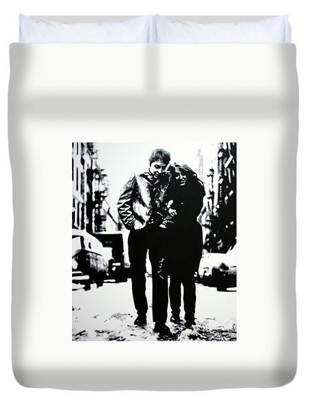 Freewheelin Duvet Cover