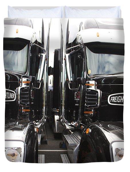 Freightliner Duvet Cover