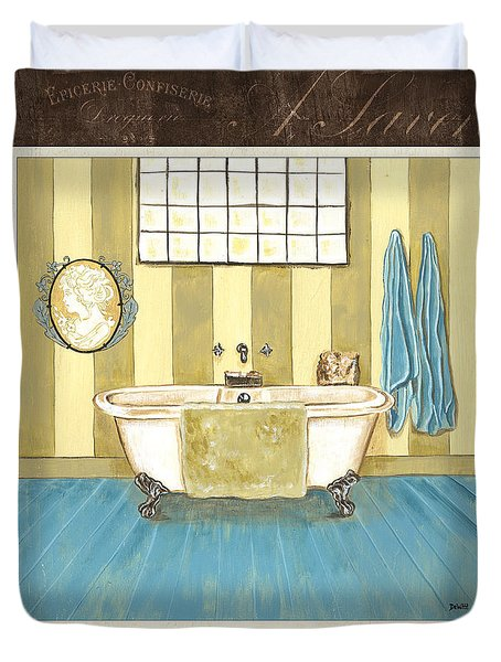 French Bath 2 Duvet Cover