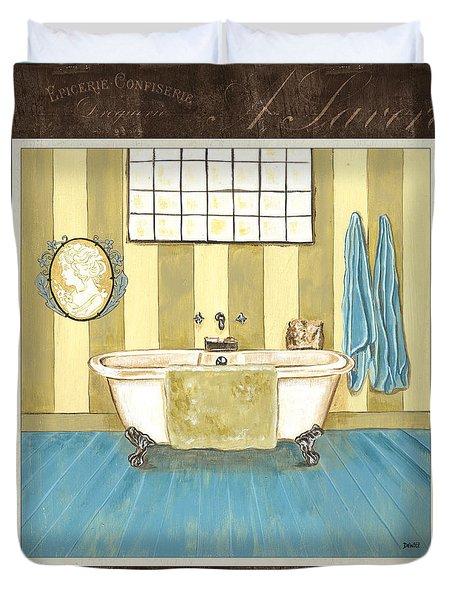 French Bath 2 Duvet Cover