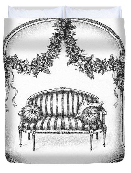 French Country Sofa Duvet Cover by Adam Zebediah Joseph