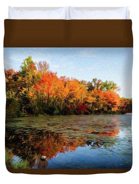 French Creek 15-025 Duvet Cover by Scott McAllister
