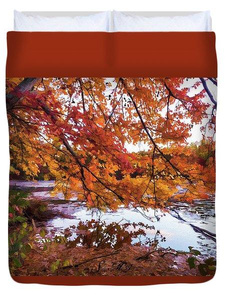 French Creek 15-107 Duvet Cover by Scott McAllister