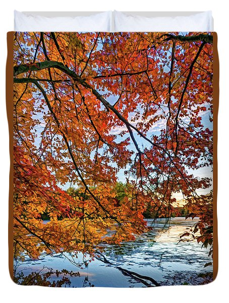French Creek 15-110 Duvet Cover by Scott McAllister