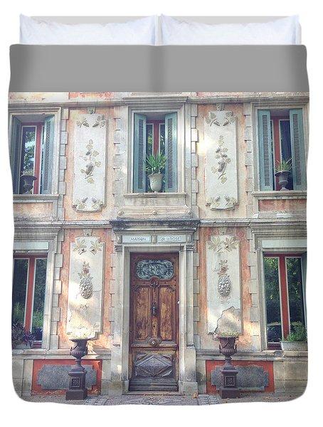 French Door Duvet Cover