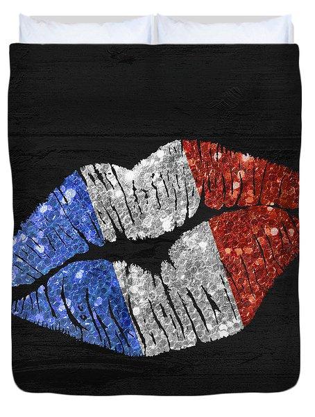 French Kiss Duvet Cover