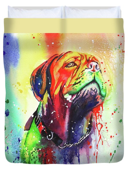 French Mastiff Duvet Cover