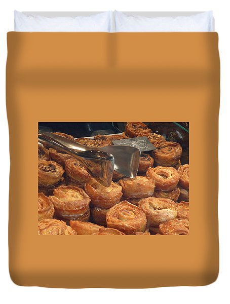 French Pastries Duvet Cover