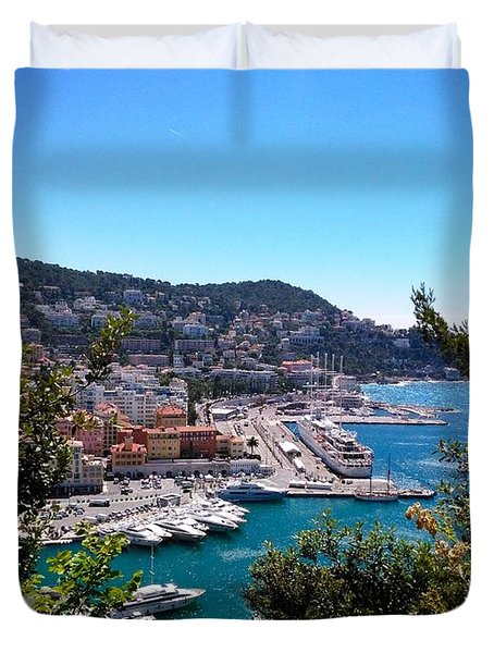 French Port Duvet Cover
