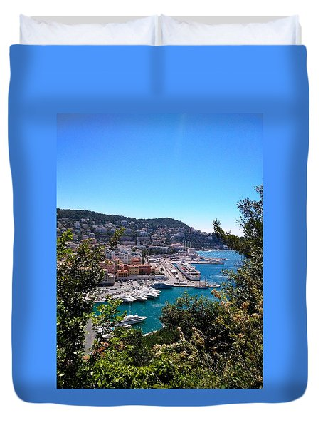 French Port Duvet Cover