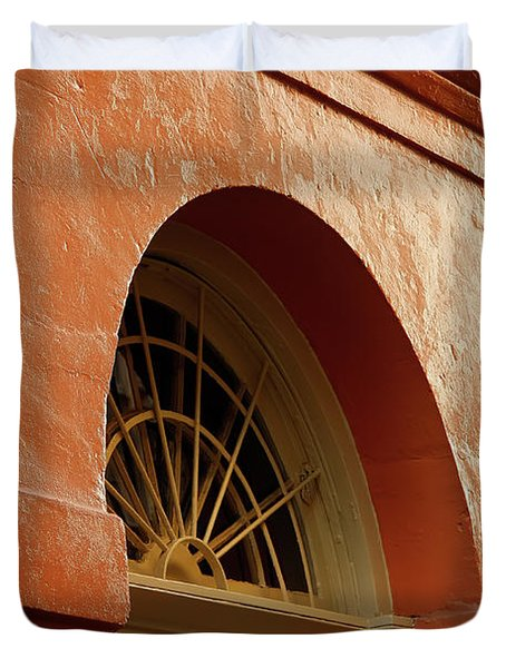 French Quarter Arches Duvet Cover by KG Thienemann