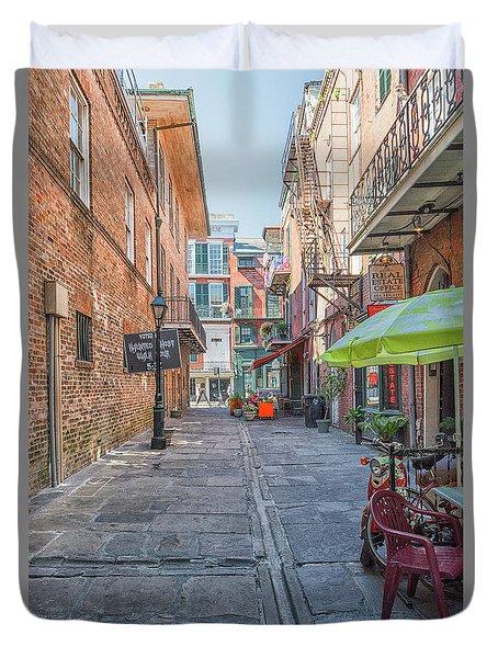 French Quarter Market Duvet Cover