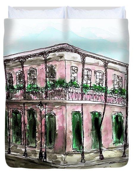 French Quarter Duvet Cover