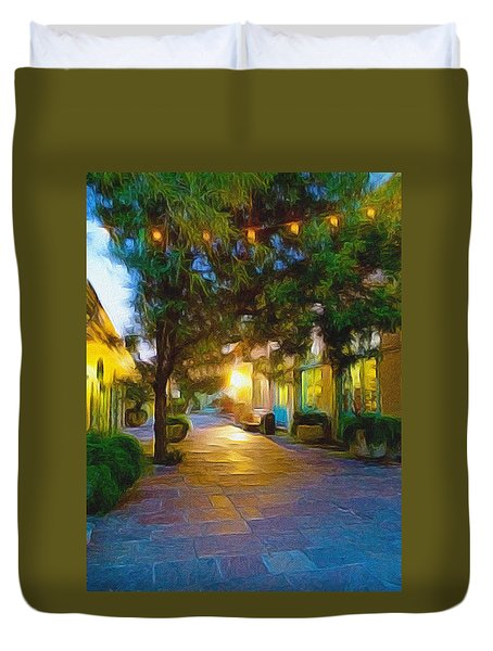 French Quarter Duvet Cover by Paul  Wilford