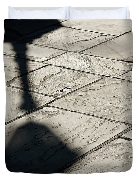 French Quarter Shadow Duvet Cover