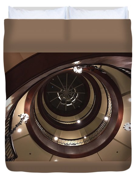 French Quarter Spiral Duvet Cover