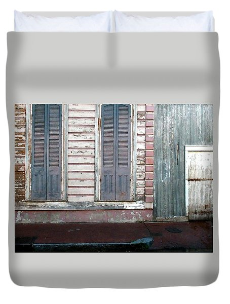 French Quarter Duvet Cover by Steve Archbold