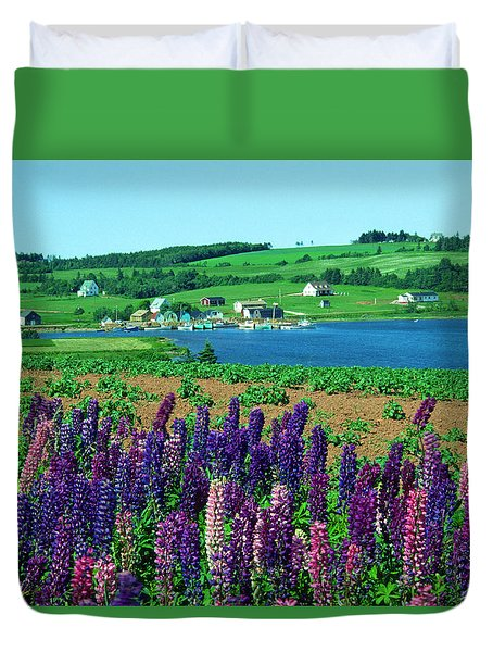 French River, Prince Edward Island Duvet Cover