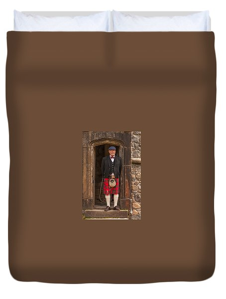 French Scotsman Duvet Cover