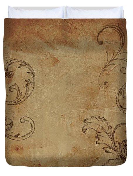 French Scrolls Duvet Cover