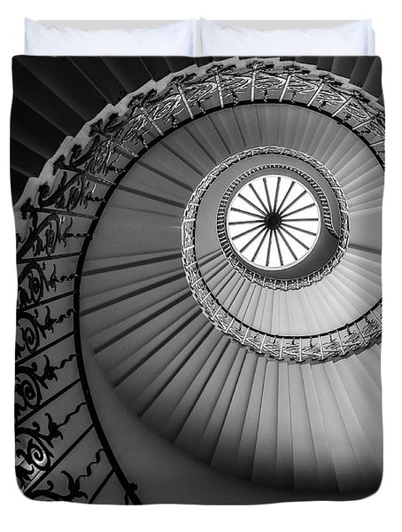 French Spiral Staircase 1 Duvet Cover