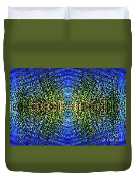 Frequency Duvet Cover