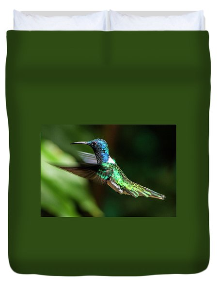 Frequent Flyer, Mindo Cloud Forest, Ecuador Duvet Cover