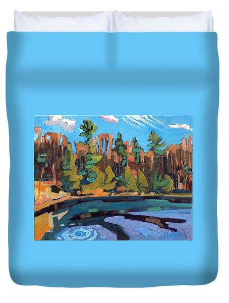 Fresh Air Duvet Cover by Phil Chadwick