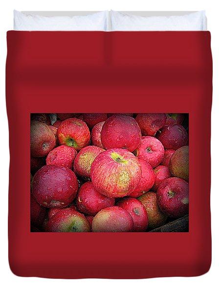 Fresh Apples Duvet Cover