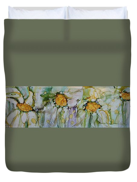 Fresh As A Daisy Duvet Cover